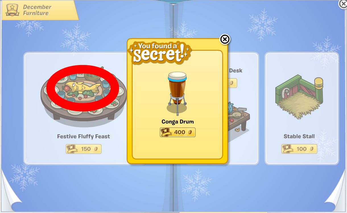 Club Penguin Furniture & Igloo Catalog Cheats