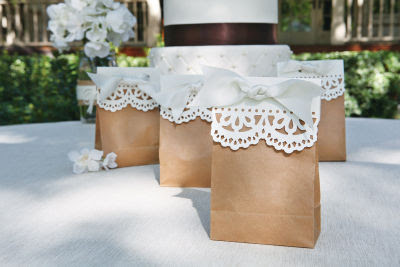 Wedding Gift Bags At Michaels : LQ Designs : Paper Bag Wedding Favors