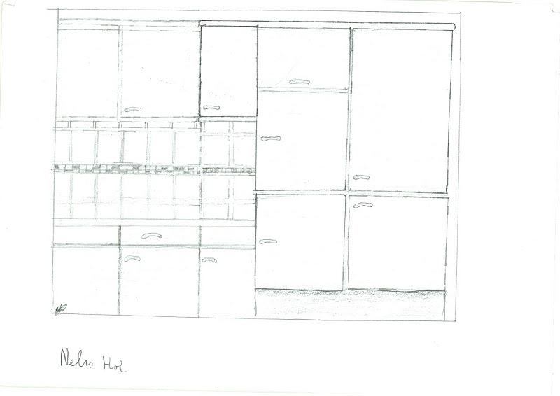 Tekenen3havo nelis for Keuken tekenen