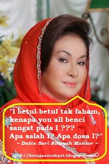Datin Seri Rosmah Mansor