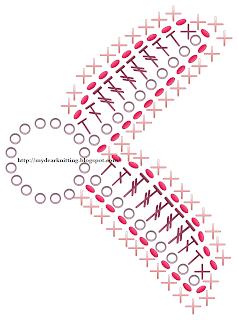 схемы лепестков лилии