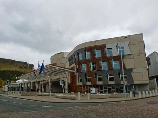 Scottish Parliament Building, Edinburgh