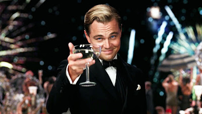 Leonardo DiCaprio as Jay Gatsby in Baz Luhrmann's The Great Gatsby