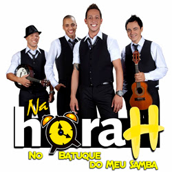 Capa do álbum Grupo Na Hora H – No Batuque do Meu Samba (2012)