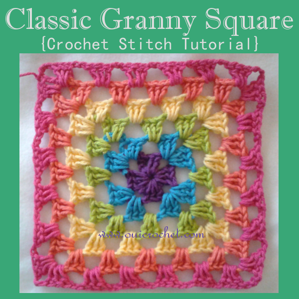 Classic Granny Square Stitch Tutorial
