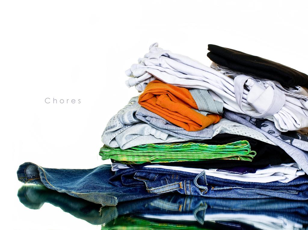 Laundry, chores