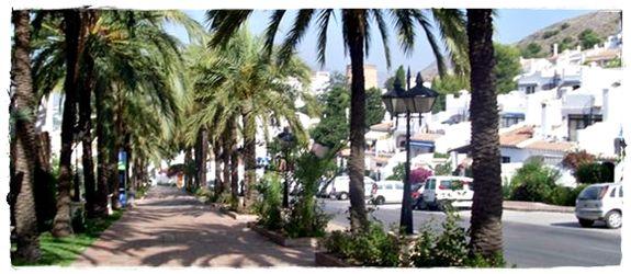 Urbanización San Juan de Capistrano en Nerja, Málaga, Costa del Sol