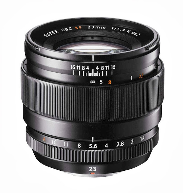 Fotografia del FUJINON XF23mm F1.4 R