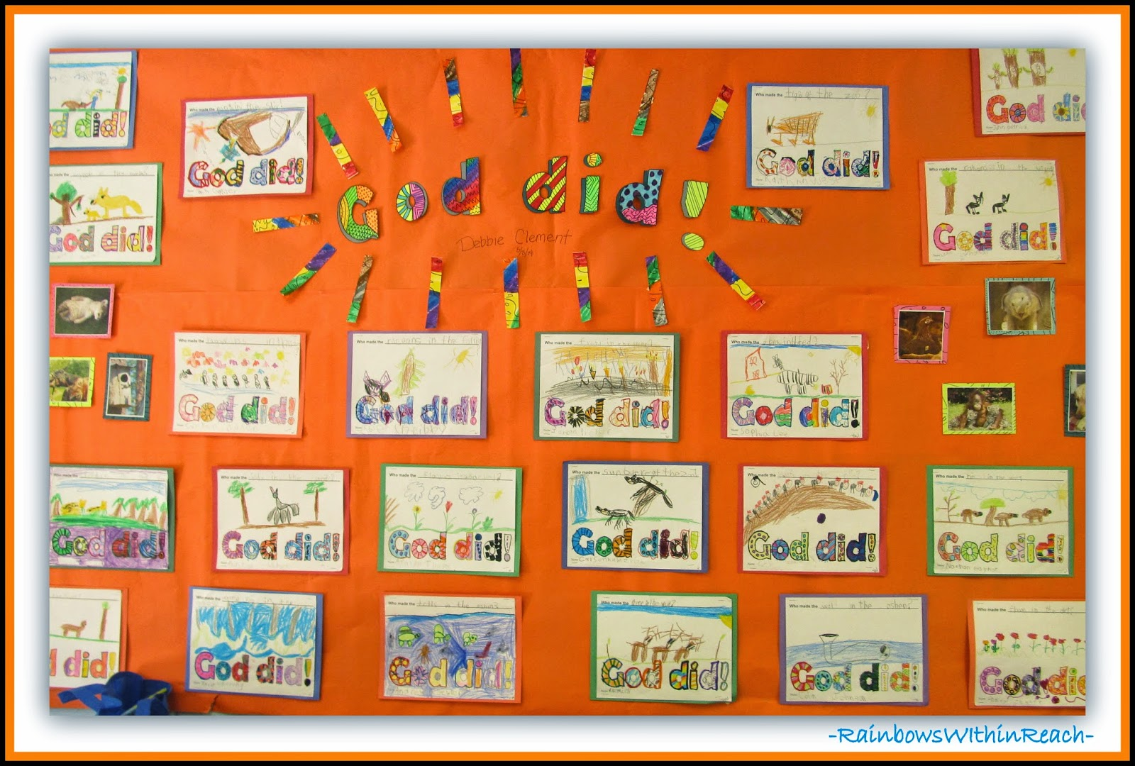 """""""God Did"""" Bulletin Board for FREE Mp3 of Debbie Clement Song"""