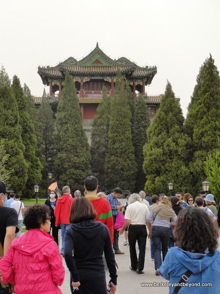 entrance to Summer Palace in Beijing, China