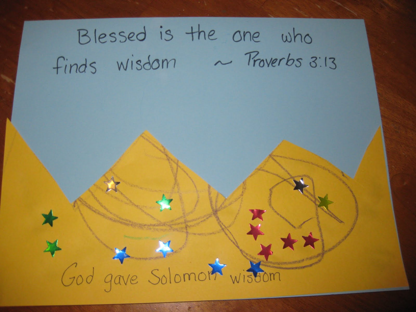 Nursery rhymes and fun times kids in the word king solomon for King solomon crafts for preschoolers