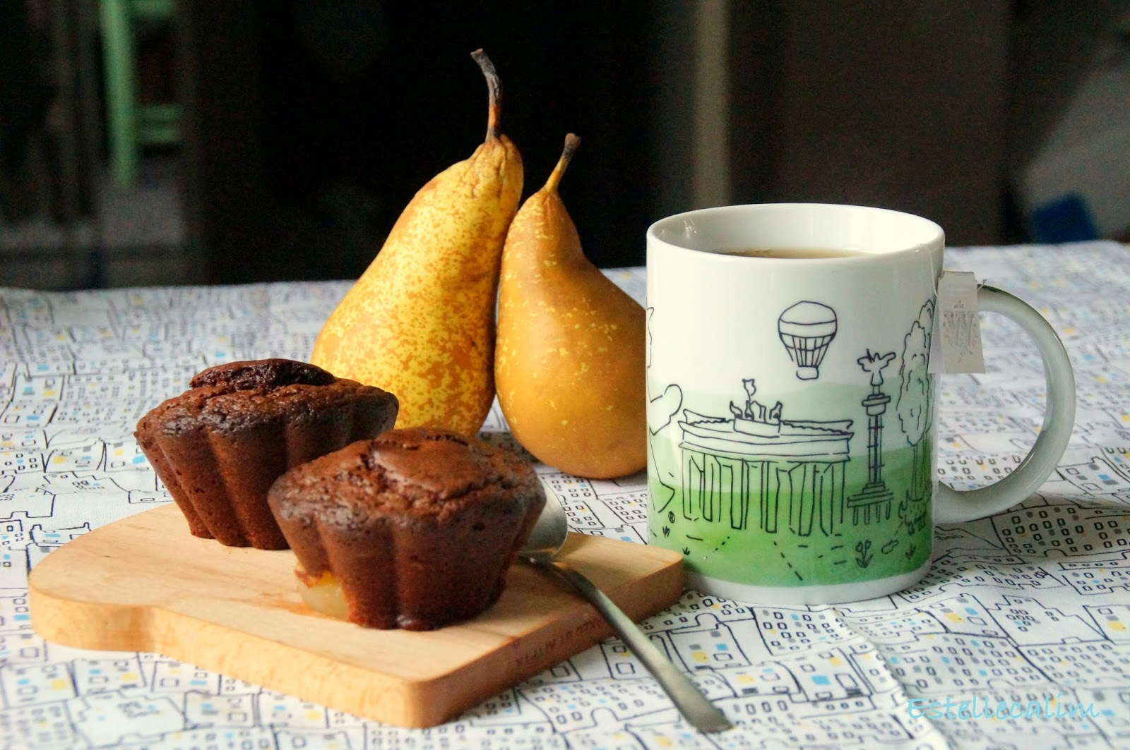 Cake Au Poire Et Pepite De Chocolat
