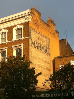 Ghost sign for Dundee Marmalade, Notting Hill Gate