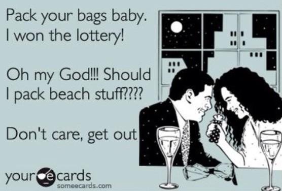 lottery winner conversation