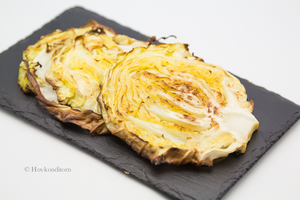 Hovkonditorn: Oven Roasted Cabbage Wedges