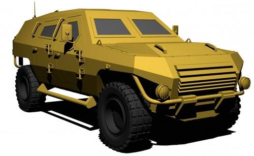 Dartz Factory Armored Vehicle