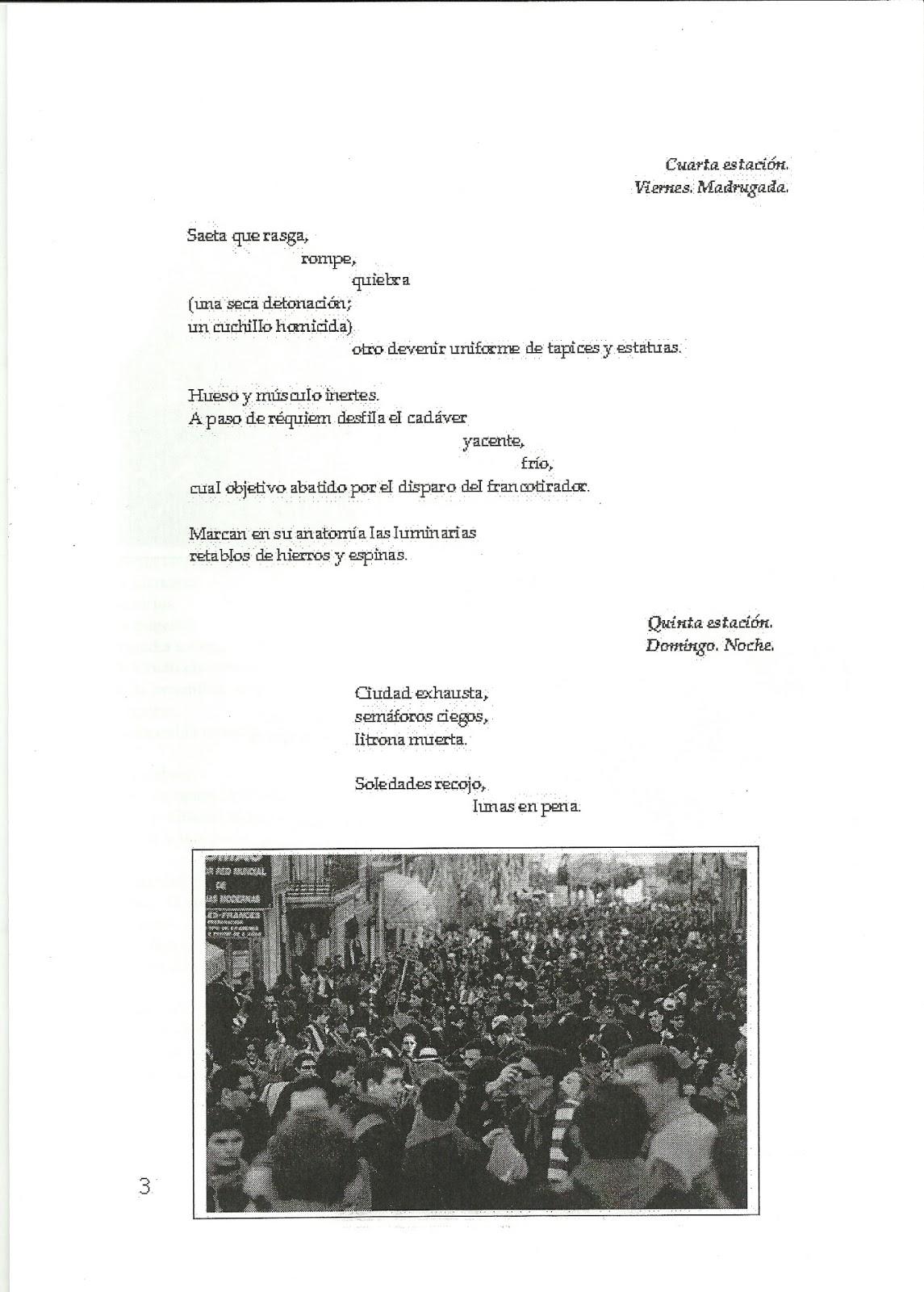 Suplemento Argosliteraria: Especial Semana Santa, 2010.   Poetas de ...