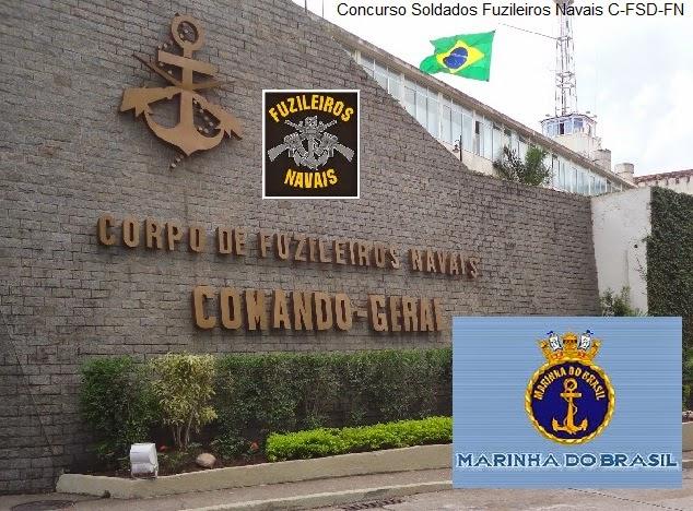 Concurso de Admissão Soldados Fuzileiros Navais (C-FSD-FN) 2015/2016.