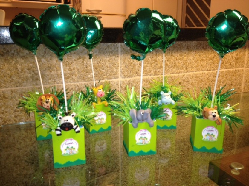 Decoração de Festa Infantil: IDÉIAS CRIATIVAS PARA CENTRO DE MESA
