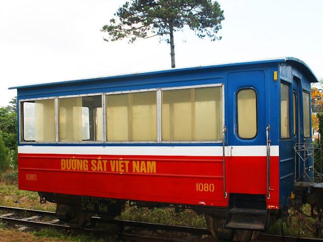 Trains in Da Lat