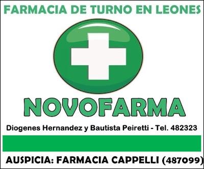 FARMACIA DE TURNO HOY EN LEONES