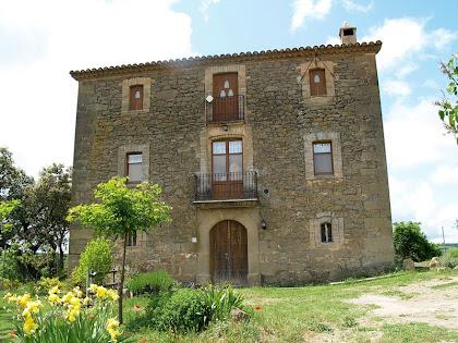 La façana de llevant de la casa Serra Morena