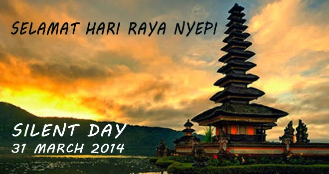 Selamat Hari Raya Nyepi 1936 - 2014
