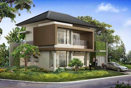 desain rumah mewah keren 2 Lantai - gambar 06