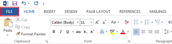 how to add headings to navigation pane in word 2013