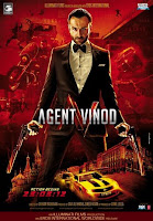 First Look of Agent Vinod 2012 [Bollywood Hindi Movie Poster - Wallpaper]