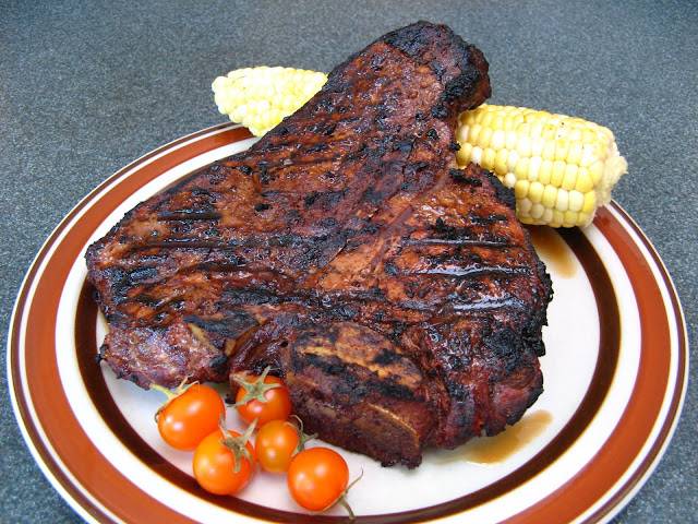 Duck Soup Easy: Grilled Magic Dust Beef Porterhouse and ...