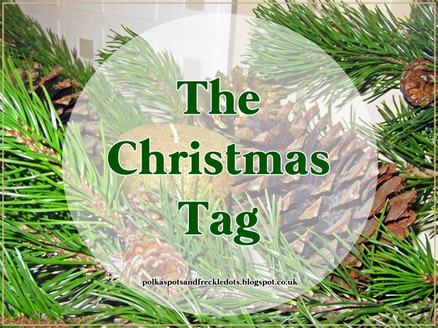 Polka Spots and Freckle Dots: The Christmas Tag 2014