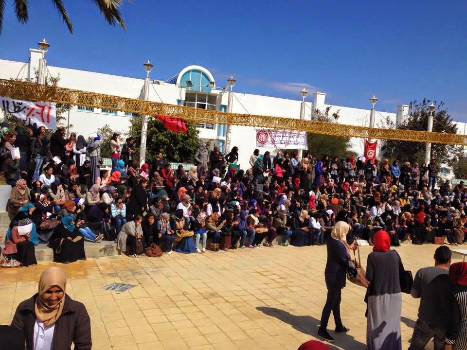 معهد العالي للبيوتكنولوجيا  المنستير  في اضراب منذ 9 مارس