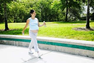 andar en el embarazo