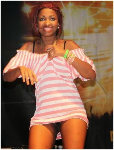 One word for this HOT lady … She decided to kill men on stage
