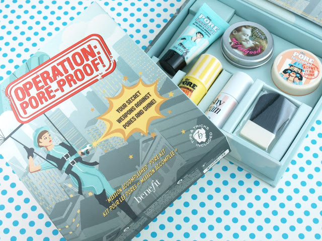Benefit Mission Accomplished Kit Pore Kit: Review and Swatches