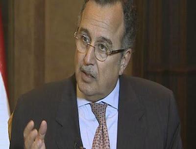 Menteri Luar Mesir Nabil Fahmy