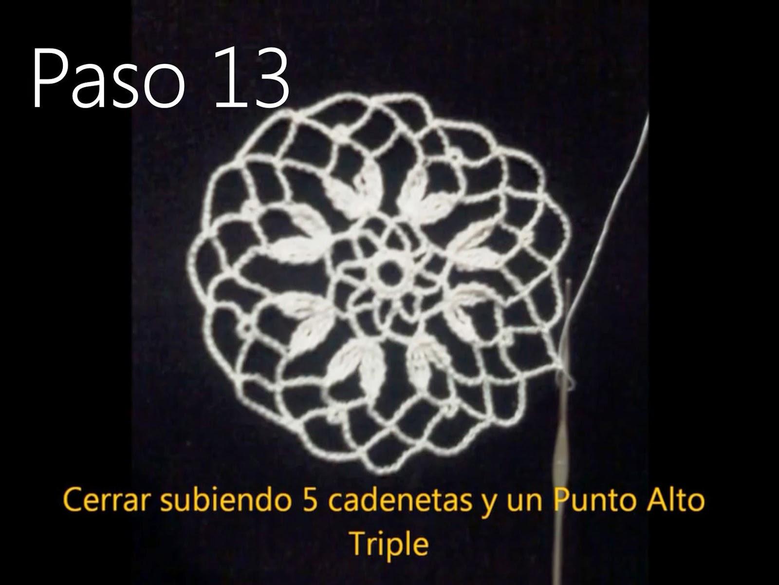 Tapete Flor Paso 13