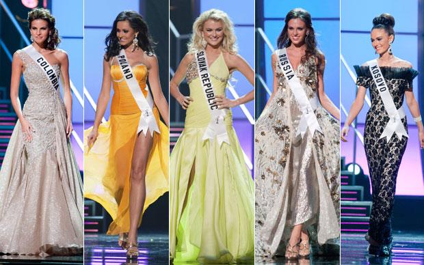 Vestidos de Miss Universo
