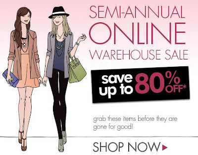  Stila Cosmetics Semi Annual Online Warehouse Sale