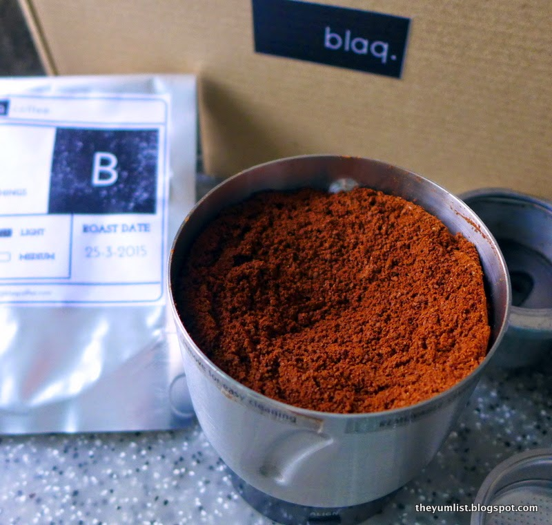 Blaq Coffee, Coffee Delivery Subscription Service, Malaysia
