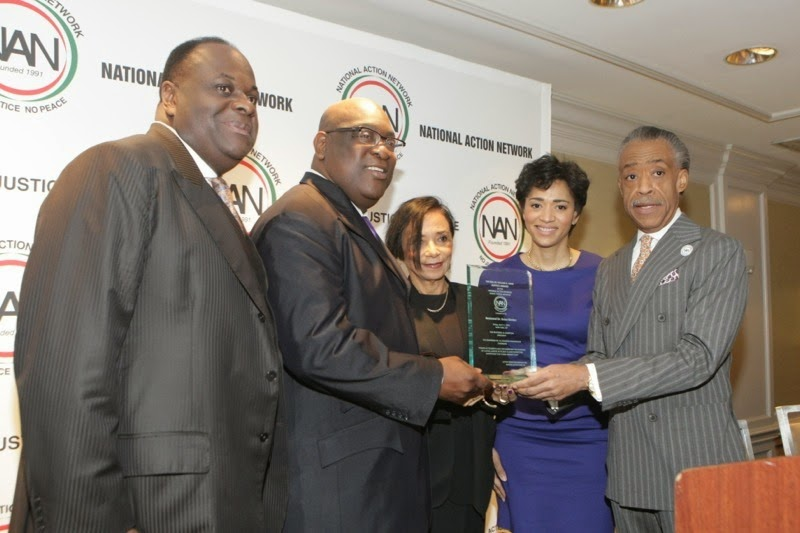 The FICKLIN MEDIA GROUP,LLC: Rev. Boise Kimber Receives the Dr. William Augustus Jones Award at National Black Action Network 2014 Annual Conference