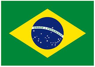 bandeira do brasil colorida