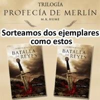 """Concurso: Sorteamos dos ejemplares del libro  """"Batalla de Reyes"""" de M.K. Hume"""