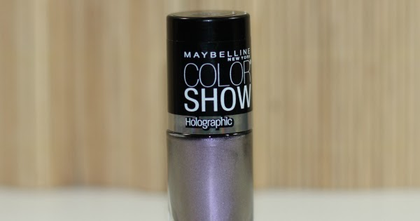 Beautyredefined by pang maybelline color show holographic - Show me the color lavender ...