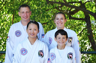 Martial arts classes for families