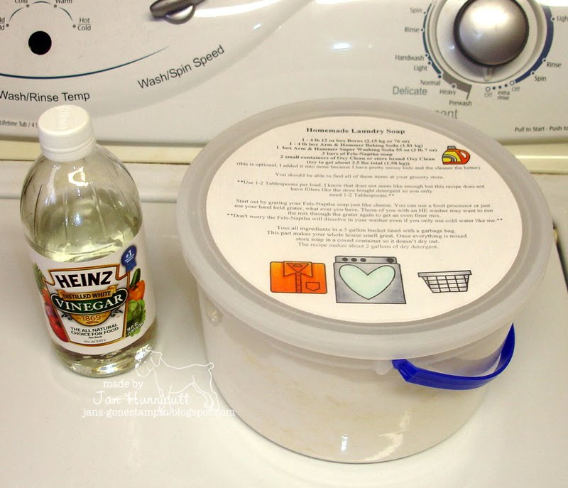Make Your Own Homemade Laundry Soap