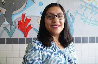 A orientadora pedagógica Karina Zanibone destaca que o maior objetivo é implementar um ambiente leitor na escola