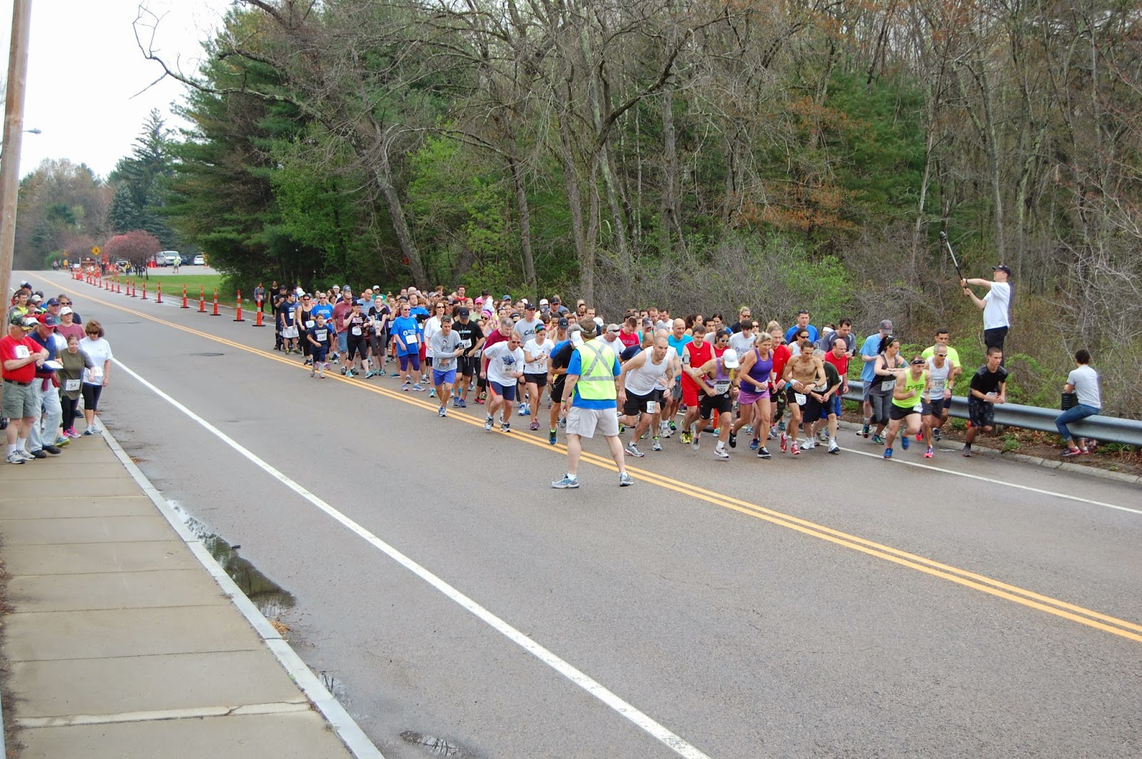 The start of the Elks race in 2014