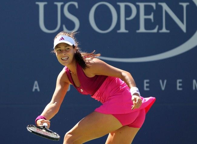 Femme russe tennis tennis